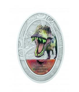 2 Oz Silber Tyrannosaurus Rex - T-Rex - 2014