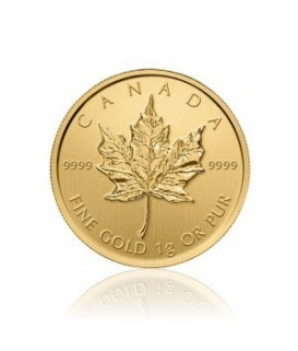 1 x 1 g Gold Maple Leaf