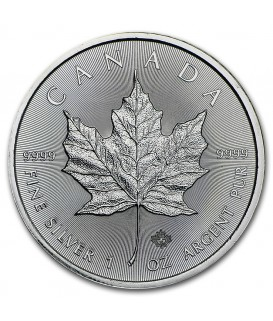 1 x 1 Oz Silber Maple Leaf 2017/18*