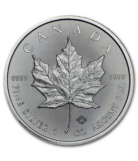 1 x 1 Oz Silber Maple Leaf 2014/15