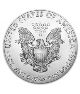 1 x 1 Oz Silber American Eagle 17-18*