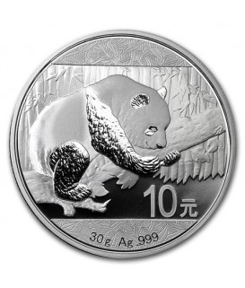 1 x 30 g Silber China Panda 2016*