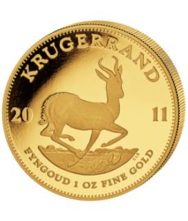 1 x 1 Oz Gold Kruegerrand