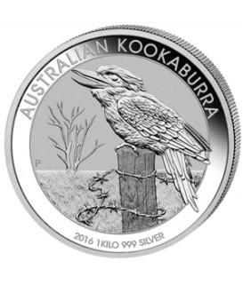 1 x 1 kg Silber Kookaburra 2016*