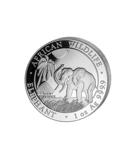 1 x 1 Oz Silber Somalia Elefant 2017*
