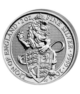 2 Oz Silber Löwe von England 2016