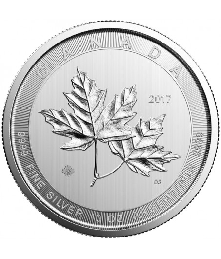 10 Oz Silber Maple Leaf 2017*