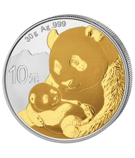 1 x 30 g Silber China Panda 2019*
