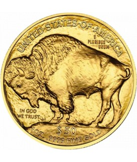 1 x 1 Oz Gold American Buffalo 21