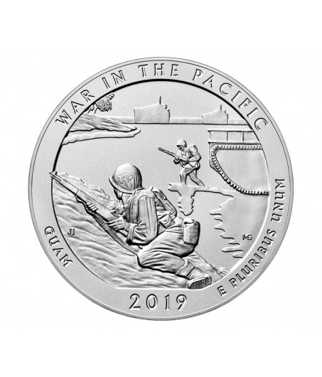 1 x 5 Oz Silber America the Beautiful War in the Pacific 19*