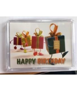 1 g Goldbarren Happy Birthday