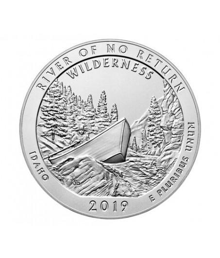 1 x 5 Oz Silber America the Beautiful Frank Church River 19*