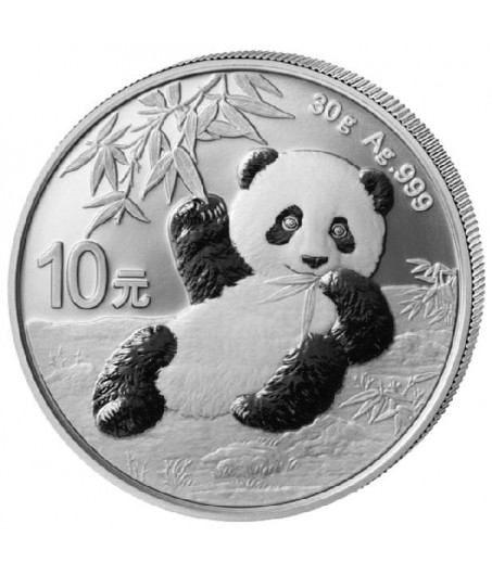1 x 30 g Silber China Panda 2020*