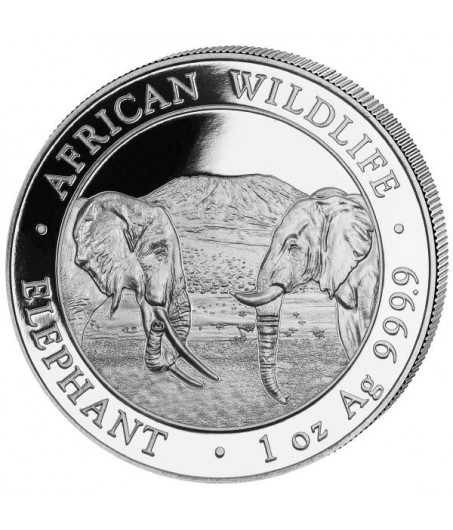 1 x 1 Oz Silber Somalia Elefant 2020*