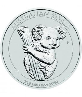 1 x 1 kg Silber Australian Koala 2020*