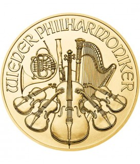 1 x 1 Oz Gold Philharmoniker