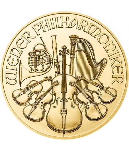 1 x 1 Oz Gold Philharmoniker