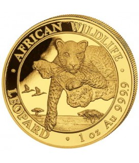 1 x 1 oz Gold Leopard 2020