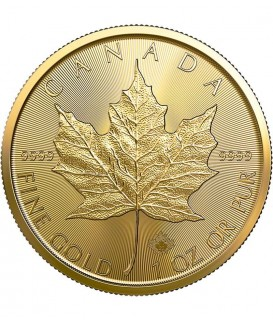 1 x 1 Oz Gold Maple Leaf