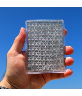 100 x 1g Silbertafeln, Tafelbarren