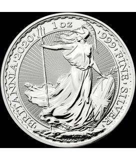 1 x 1 Oz Silber Britannia 2020*