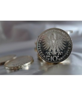 100 x 10 DM Gedenkmünzen divers