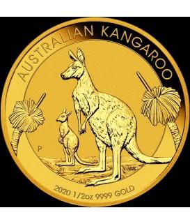 1 x 1/2 Oz Gold Australian Känguru