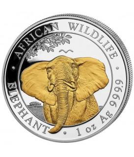1 x 1 Oz Silber Somalia Elefant 2021*