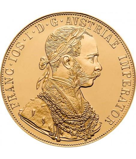 1 x 4 Dukaten Gold Franz Joseph