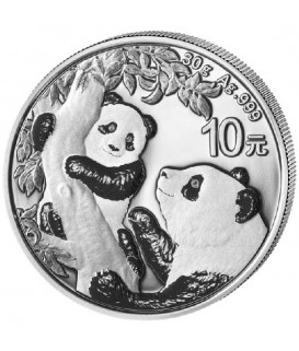 1 x 30 g Silber China Panda 2021*