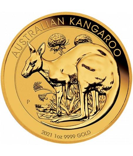 1 x 1 Oz Gold Nugget Känguru 2021