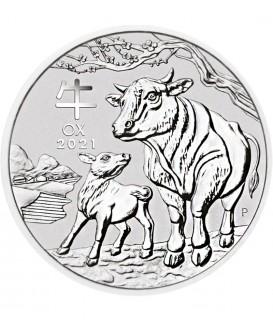 1 kg Silber Lunar III Ochse 2021*