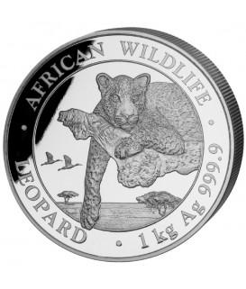 1 kg Silber Leopard 2020*