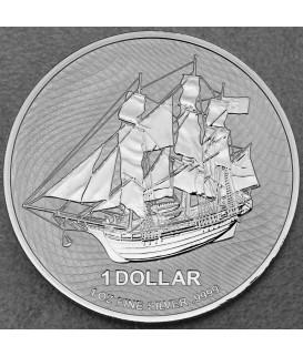 1 x 1 Oz Silber Cook Island Bounty 2021