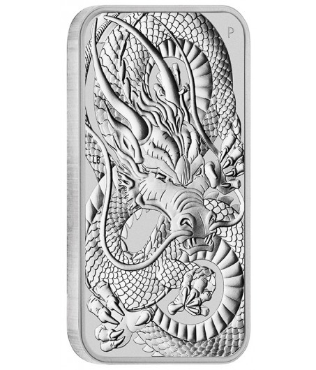1 Unze Silber Münzbarren Dragon 2020*
