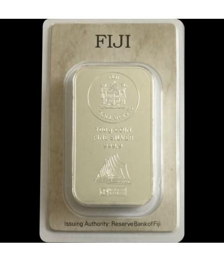 100 g Münzbarren Cook Island Silber
