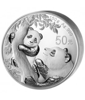 1 x 150 g Silber China Panda PP 2021*