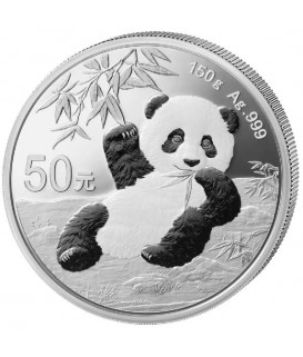 1 x 150 g Silber China Panda PP 2020*