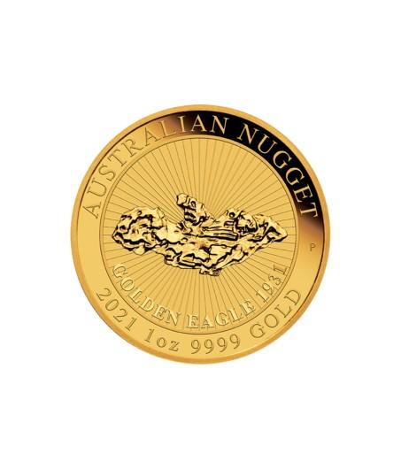 1 x 1 Oz Golden Eagle 2021