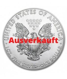 1 x 1 Oz Silber American Eagle 2021*