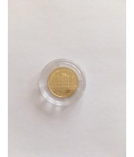 1 x 1/10 Oz Gold Philharmoniker 15