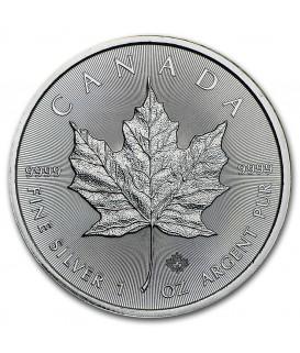 1 x 1 Oz Silber Maple Leaf 2015