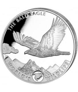 1 x 1 Oz Silber Adler Bald Eagle21*