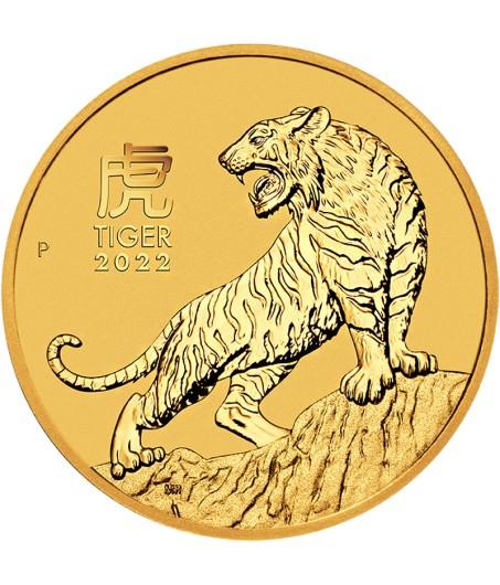 1 x 1 Oz Gold Lunar Ochse III 2021