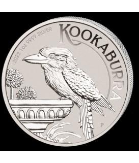 1 x 1 Oz Silber Kookaburra 2020