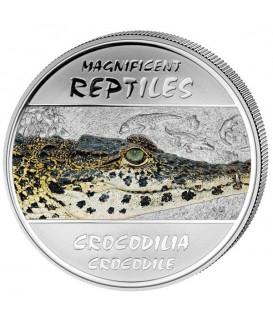 4 x 30 Fr Reptilien Silber 2013