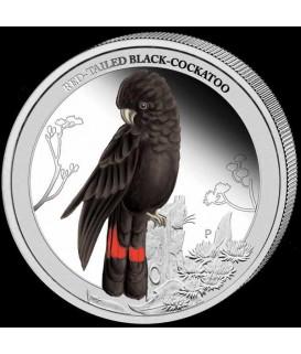 1/2 unze Silber Kakadoo 2013--color