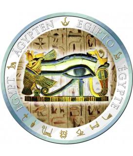 1 x 20 g Silber Auge des Horus 2012--color