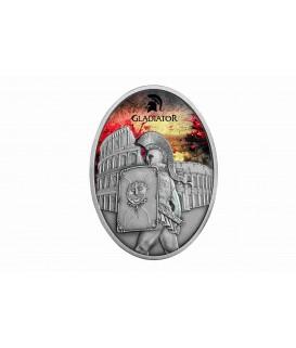 1 x 1 Uz Silbermünze Gladiatoren 2013 color