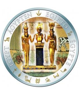 1 x 20 g Silber Osiris, Isis und Horus 2012--color
